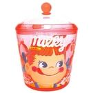 【震撼精品百貨】不二家牛奶妹_Peko~不二家 牛奶妹 PEKO 透明小物收納罐#10117