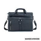 MANDE RHODE - 里米尼- 硬挺十字紋熱銷款公事包 - MR-52821