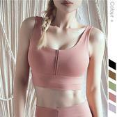 新款歐美跑步運動文胸 聚攏防震透氣健身背心美背瑜伽運動內衣女 WX1149