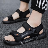 新款夏季潮流拖鞋男士室外沙灘涼鞋百搭休閒防滑外穿軟底涼拖 雙十二全館免運