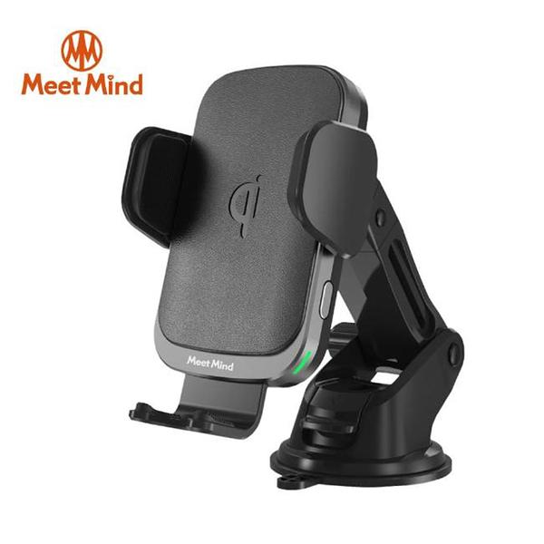 【94號鋪】Meet Mind i Car線圈感應 10W Qi認證無線充電車架 二色