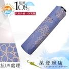 雨傘 陽傘 萊登傘 108克超輕傘 抗UV 易攜 超輕三折傘 碳纖維 日式傘型 Leighton (櫻花粉紫)