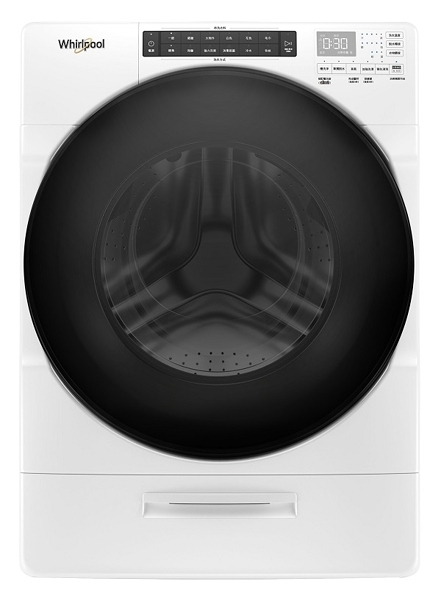 惠而浦 17公斤 8TWFW6620HW Load & Go蒸氣洗滾筒洗衣機