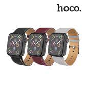 hoco Apple Watch公爵皮革錶帶 Series 4 3 2 1 代 38 40 42 44 mm 蘋果手錶 錶帶 皮革 商務 替換 錶帶