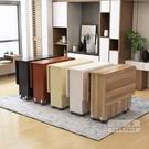 折疊桌 折疊餐桌用小戶型長方形簡約易多功...