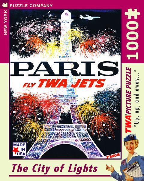 【KANGA GAMES】拼圖 花都巴黎 -  Paris - The City of Lights  1000片