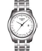 TISSOT 天梭 T-Trend 簡約時尚手錶-白 T0354101103100