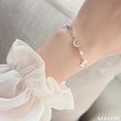 手鍊 星月手鍊ins小眾設計高級感女生閨蜜手鍊女韓版個性學生簡約森系 艾家