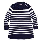 『小鱷魚童裝』條紋線衫洋裝(08號~18號)338324