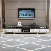 電視櫃茶幾組合客廳現代簡約小戶型多功能鋼化玻璃伸縮電視機櫃WY促銷大減價!