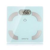 oserio無線智慧體脂計FLG-756(藍芽傳輸/歐瑟若/藍牙體脂機/藍牙體脂肪計/體重機/基礎代謝)