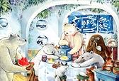 北極的夏日 PuzzleStory /70P/afu/繪畫/迷你