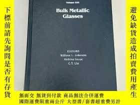 二手書博民逛書店Bulk罕見Metallic Glasses(塊狀金屬玻璃)精裝 有點勾畫Y6318 William L. J