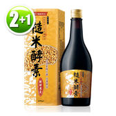 【即期2019年4月9日   買2送1瓶,剩餘21瓶】大漢酵素 糙米蔬果植物醱酵液(600ml/瓶)x2