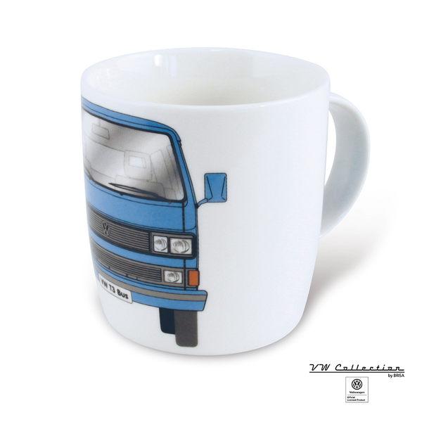 VW Brisa老福斯-T3 Bus 馬克杯-藍