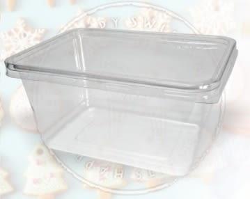 5入 900CC PET餅乾盒 點心盒 包裝盒S015