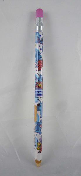 【震撼精品百貨】Stitch_星際寶貝史迪奇~2B鉛筆『白底藍泡泡』
