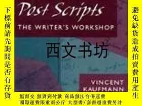 二手書博民逛書店【罕見】1994年 Post Scripts: The Writ