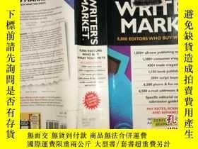 二手書博民逛書店WRITER S罕見MARKET作家市場DY3359 KIRSTEN C.HOLM 出版1999