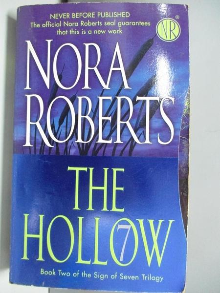【書寶二手書T9/原文小說_ADT】The Hollow_Nora Roberts