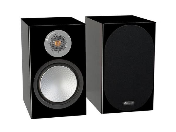 英國Monitor Audio 新竹名展音響 銀Silver 100 書架型喇叭 鋼烤版