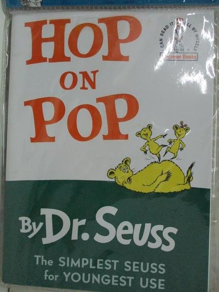 【書寶二手書T1/原文小說_DOO】Hop on Pop_Seuss, Dr./ Pierce, David Hyde (NRT)