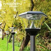太陽能燈戶外庭院燈家用草坪燈新農村超亮防水路燈 露露日記