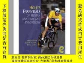 二手書博民逛書店Hole s罕見Essentials of Human A&P
