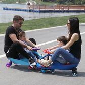 樂貝兒童扭扭車搖擺車帶音樂靜音輪溜溜車1-3-6歲寶寶玩具妞妞車 IGO