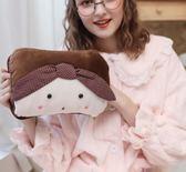 熱水袋充電式可愛煖寶寶毛絨防爆注水熱寶女學生韓版暖水袋暖手寶    瑪奇哈朵