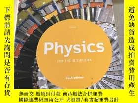 二手書博民逛書店Physics FOR罕見THE IB DIPLOMA 2014