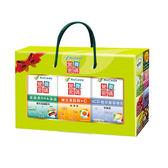 (秋季養生禮盒)營養密碼  UCII+植萃葡萄糖胺 80顆 葉黃素DHA藻油 75錠 維生素B群+C 90顆  *維康