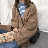 針織外套 外搭針織開衫外套女裝寬鬆百搭中長款毛衣學生 愛麗絲精品