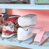 ✭慢思行✭【P413】一體式收納鞋架 家居用品 加厚 鞋托架 簡易 雙層 塑料鞋架 收納 整理