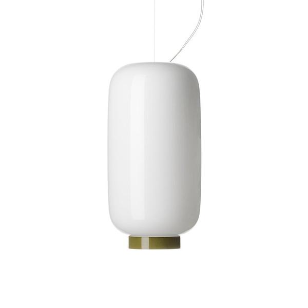 義大利 Foscarini Chouchin Reverse 2 Suspension Lamp 22cm 彩色蘑菇 顛覆版系列 吊燈 - 型號 2 綠色環