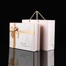 禮物盒 ins風長方形禮品盒空盒粉色伴手禮圍巾盒天地蓋生日禮物包裝盒子【快速出貨八折下殺】