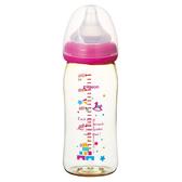 貝親 Pigeon 寬口母乳實感PPSU奶瓶240ml(木馬城堡)P00346[衛立兒生活館]