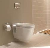 【麗室衛浴】德國 DURAVIT STARCK3 220009 掛牆馬桶 含GEBERIT 懸吊馬桶專用埋壁式水箱 (鐵架式)