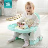 寶寶餐椅兒童便攜式多功能學坐椅吃飯餐桌椅折疊座椅凳子 水晶鞋坊YXS