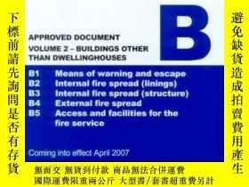 二手書博民逛書店The罕見Building Regulations 2000: