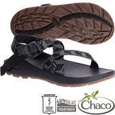 Chaco ZLM01_HE05立方黑 男越野紓壓涼鞋-Z/Cloud標準款 水陸兩用鞋/沙灘鞋運動鞋