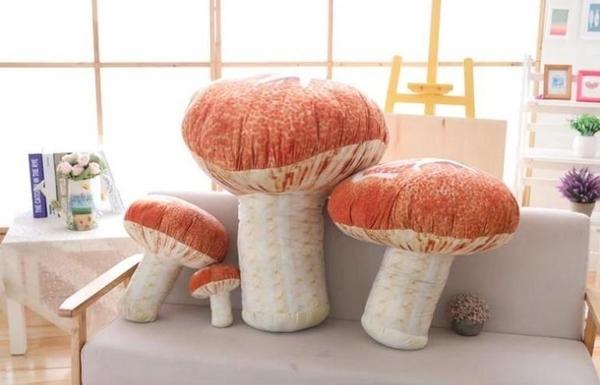 【80公分】仿真香菇娃娃 蘑菇玩偶 布偶 聖誕節交換禮物 生日禮物 餐廳店面擺設裝潢布置