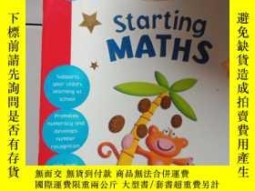二手書博民逛書店starting罕見maths..Y12498