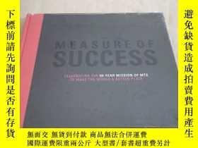 二手書博民逛書店THE罕見MEASURE OF SUCCESS成功的衡量Y283241