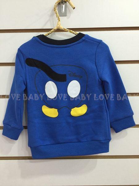 ☆╮寶貝丹童裝╭☆ 新款 正版 迪士尼 米奇 圖案 男童 經典款 內刷毛 休閒 上衣 新款 現貨 ☆
