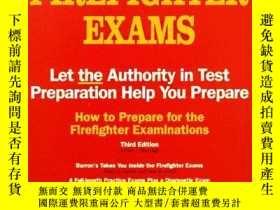 二手書博民逛書店How罕見to Prepare for the Firefighter Examinations (BARRONS