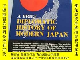 二手書博民逛書店A罕見BRIEF DIPLOMATIC HISTORY OF M