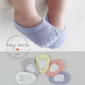 襪子 兒童 寶寶 隱形 防滑襪 彩色 船襪 BW