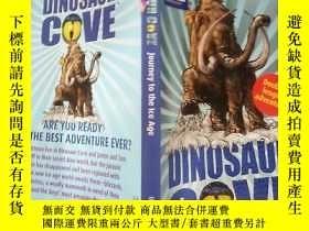 二手書博民逛書店dinosaur罕見cove 恐龍灣 、Y200392