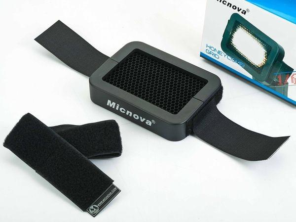 呈現攝影-Micnova 聚光蜂巢罩 聚光罩 大孔 1/4 外閃/機頂閃專用 外拍棚拍 局部光/髪光 離機閃